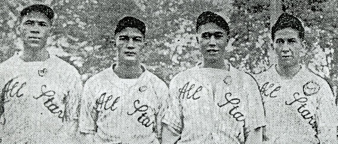 team photo 1935 All Stars