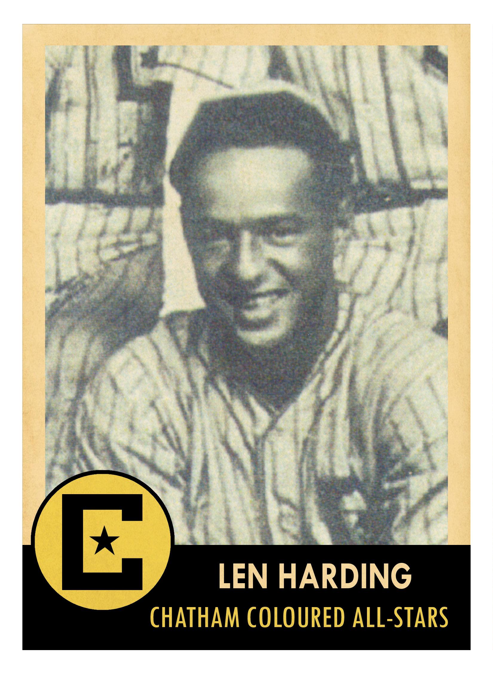 Andy Harding in baseball uniform