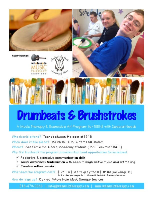 Drumbeats & Brushstrokes