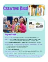 Creative Kids! Flyer