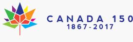 Canada 150 multi-coloured maple leaf. Date of 1867-2015