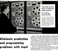 Tape Recorder Advertisement